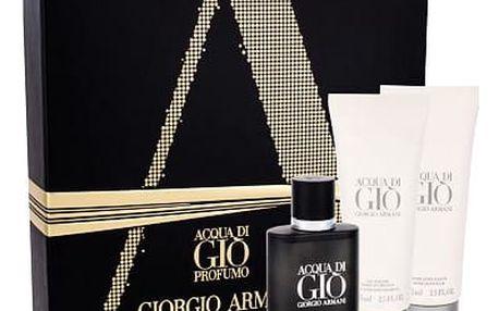 Giorgio Armani Acqua di Gio Profumo EDP dárková sada M - EDP 40 ml + sprchový gel Acqua di Gio 75 ml + balzám po holení Acqua di Gio 75 ml
