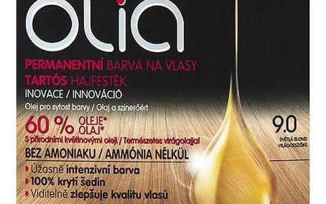 Garnier Olia Permanentní barva na vlasy světlá blond 9.0
