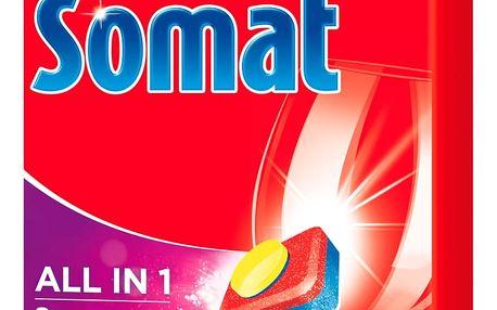 Somat All in One Lemon & Lime tablety do myčky nádobí 84 ks