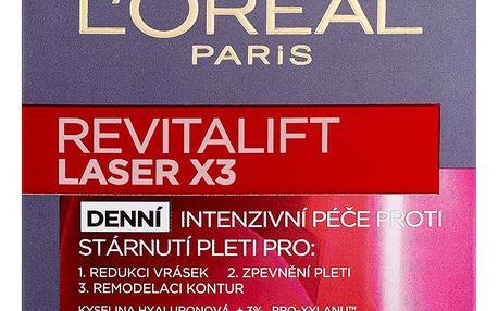 L'Oréal Paris Revitalift Laser X3 , denní intenzivní péče proti vráskám 50 ml