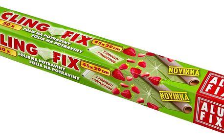 Potravinová fólie naperforovaná 22,5m, 45cmx29cm cca 50útržků v krabičce