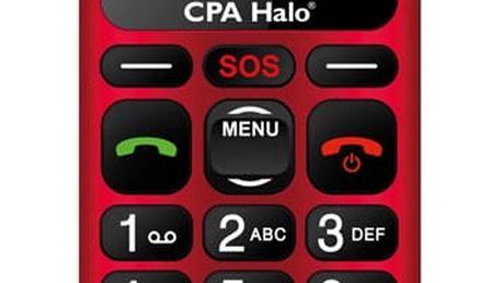 Mobilní telefon CPA Halo 16 červený (TELMY1016RE)