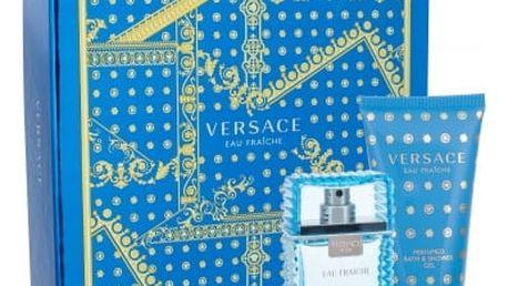 Versace Man Eau Fraiche dárková kazeta pro muže toaletní voda 30 ml + sprchový gel 50 ml