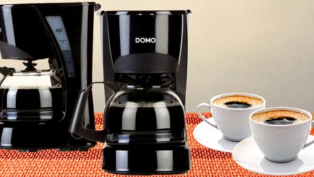 Malý kávovar na překapávanou kávu či sypaný čaj