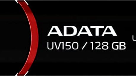 USB Flash ADATA UV150 128GB černý (AUV150-128G-RBK)