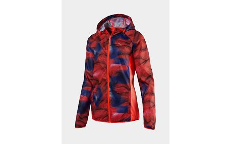 Bunda Puma Packable Woven Jacket W red blast- b Červená