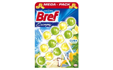 Bref Power Aktiv Cuba Sensation 3 x 50 g