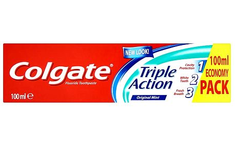 Colgate Triple Action Zubní pasta 100 ml