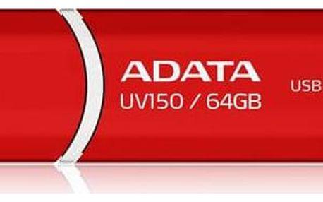 ADATA UV150 64GB (AUV150-64G-RRD) červený