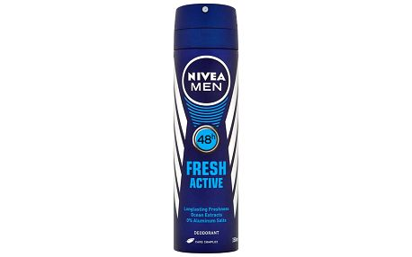 Nivea For Men Fresh active deodorant sprej 150 ml
