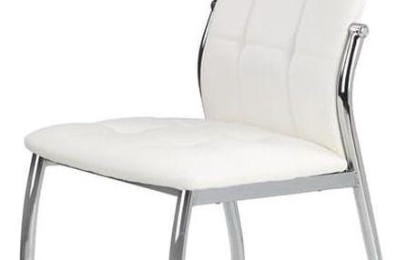 Jídelní židle K209 bílá