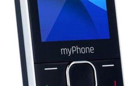myPhone CLASSIC Dual SIM (TELMYCLASSICBK) černý