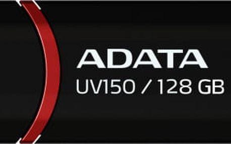 USB Flash ADATA UV150 128GB černý (AUV150-128G-RBK)