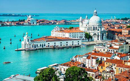 Jarní poznávací zájezd do Benátek pro jednoho, náměstí sv. Marka, Dóžecí palác, most Ponte di Rialto