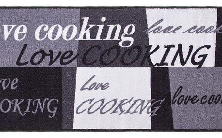 VOG Kuchyňská předložka Love Cooking, 67 x 150 cm