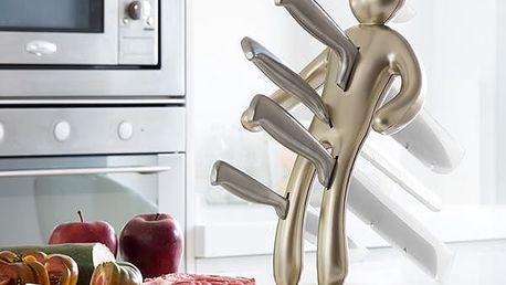 Sada Nožů se Stojanem Vudú Premium InnovaGoods 6 částí