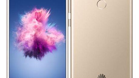 Mobilní telefon Huawei P smart Dual SIM (SP-PSMDSGOM) zlatý Software F-Secure SAFE, 3 zařízení / 6 měsíců v hodnotě 979 Kč + DOPRAVA ZDARMA