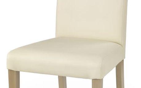 Jídelní židle Norbert krémová Halmar