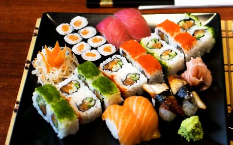 Sushi set: až 53 skvělých kousků pro 1-4 osoby na Praze 1