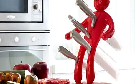 Sada Nožů se Stojanem Vudú InnovaGoods 6 částí