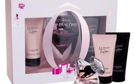 Lancome La Nuit Trésor dárková kazeta pro ženy parfémovaná voda 30 ml + tělové mléko 50 ml + sprchový gel 50 ml