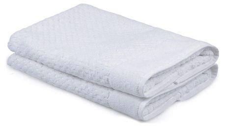 Sada 2 bílých ručníků Beverly Hills Polo Club Mosley, 50x80cm