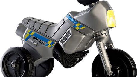 TEDDIES Odrážedlo Enduro Yupee Policie malé