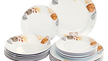 18dílná jídelní sada Autumn