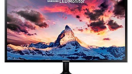 Monitor Samsung S24F350FHUXEN (LS24F350FHUXEN) černý Software F-Secure SAFE, 3 zařízení / 6 měsíců v hodnotě 979 Kč + DOPRAVA ZDARMA