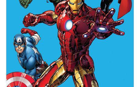 Jerry Fabrics Osuška Avengers, 75 x 150 cm