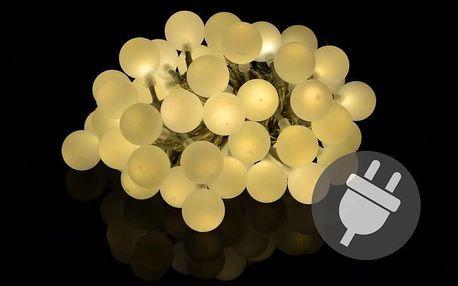 Garthen 35061 Zahradní párty osvětlení - venkovní 50 LED teple bílá