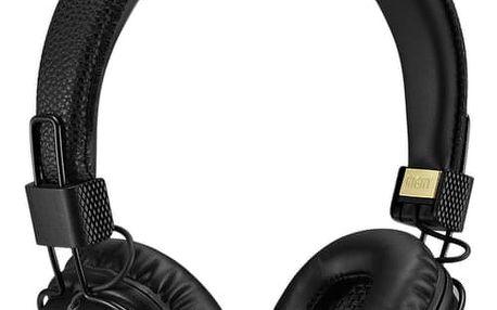Marshall Major II Bluetooth Black, uzavřená bezdrátová sluchátka s mikrofonem a ovladačem