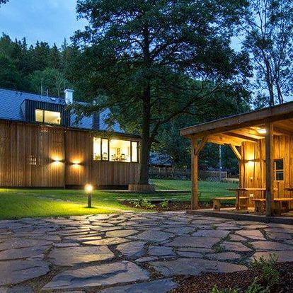 Jaro v Jeseníkách: privátní sauna i sklípek