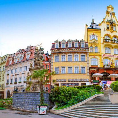 Karlovy Vary se snídaní ve vile