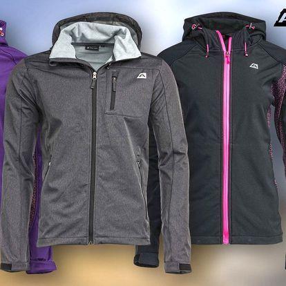 Dámská a pánská softshellová bunda Alpine Pro