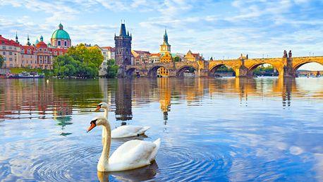 Praha v klidném hotelu včetně snídaně