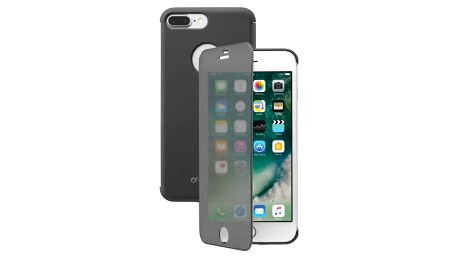 Pouzdro na mobil flipové CellularLine Touch pro Apple iPhone 8 Plus / 7 Plus černé (BOOKTOUCHIPH755K)