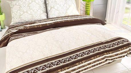 Kvalitex bavlněné povlečení delux Roccoco, 140 x 200 cm, 70 x 90 cm