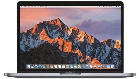 """Notebook Apple 13"""" 128 GB - Space Gray (MPXQ2CZ/A) Software F-Secure SAFE, 3 zařízení / 6 měsíců v hodnotě 979 Kč + DOPRAVA ZDARMA"""