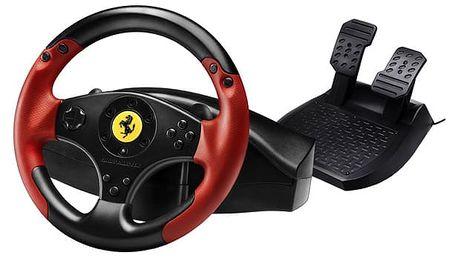 Volant Thrustmaster Ferrari Red Legend pro PC, PS3 + pedály černý (4060052)