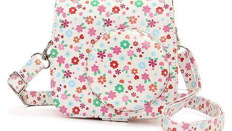 Květinová taška z PU kůže pro Fujifilm Instax Mini 8