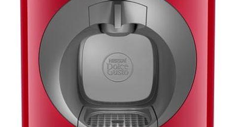 Espresso Krups NESCAFÉ® Dolce Gusto™ Oblo KP110531 červené + dárek Kapsle pro espressa Nescafé Dolce Gusto LATTÉ MACCHIATTO v hodnotě 119 Kč