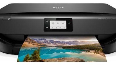 Tiskárna multifunkční HP DeskJet Ink Advantage 5075 (M2U86C#A82) černá + DOPRAVA ZDARMA