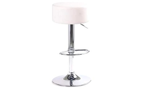 Barová židle H-23 bílá
