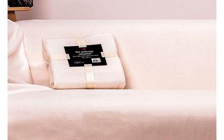 Fleecová deka MILUTEK - jednobarevná VÝPRODEJ