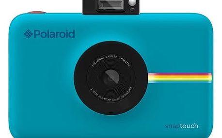 Digitální fotoaparát Polaroid SNAP TOUCH Instant Digital modrý (POLSTBL)