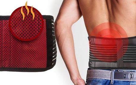 Magnetický zahřívací bederní pás