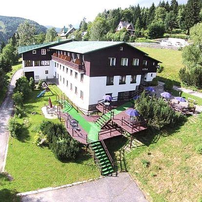Relaxační wellness pobyt v 3*Hotelu Venuše, polopenze, finská sauna, palačinka, espresso aj.