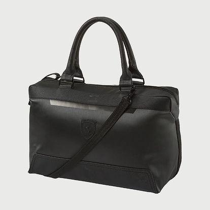 Taška Puma Ferrari Ls Handbag Black Černá