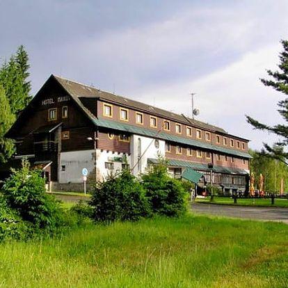 Letní dovolená v hotelu Maxov v Jizerských horách. Sauna a zapůjčení kola v ceně!